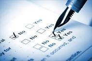پرسش نامه استاندارد عملکرد بانک