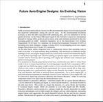 مقاله ترجمه شده طراحی موتورهای هوایی آینده: یک دید استنتاجی